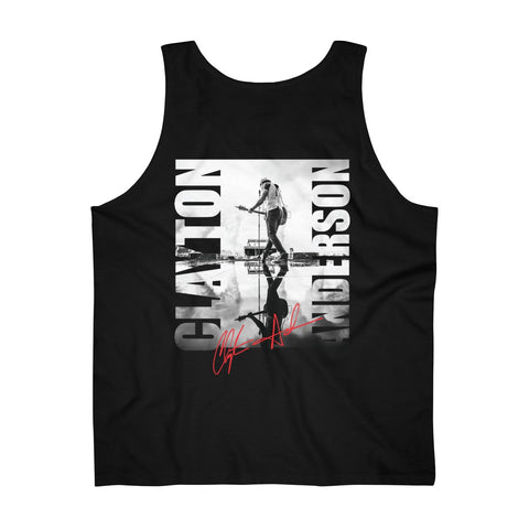 Clayton Anderson Stage Signature Men's Ultra Cotton Tank Top