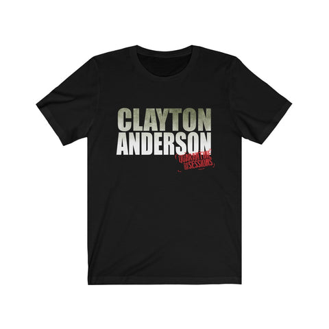 Clayton Anderson Quarantined Sessions Distressed Unisex Jersey Short Sleeve Tee