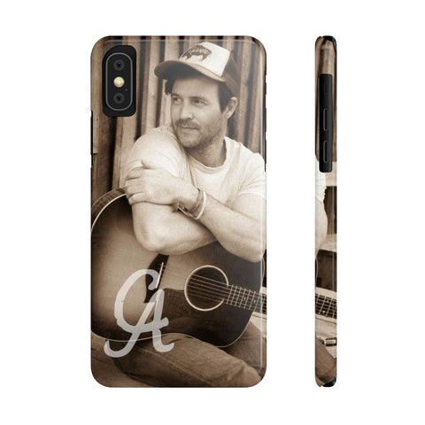 CA Clayton Anderson Sepia Case Mate Slim Phone Cases