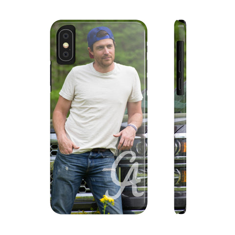 Clayton Anderson with Truck Case Mate Slim Phone Cases