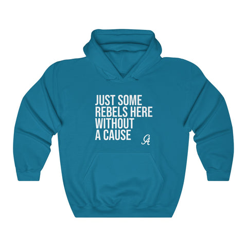 Just Some Rebels Here Without A Cause Lyric Unisex Heavy Blend™ Hooded Sweatshirt