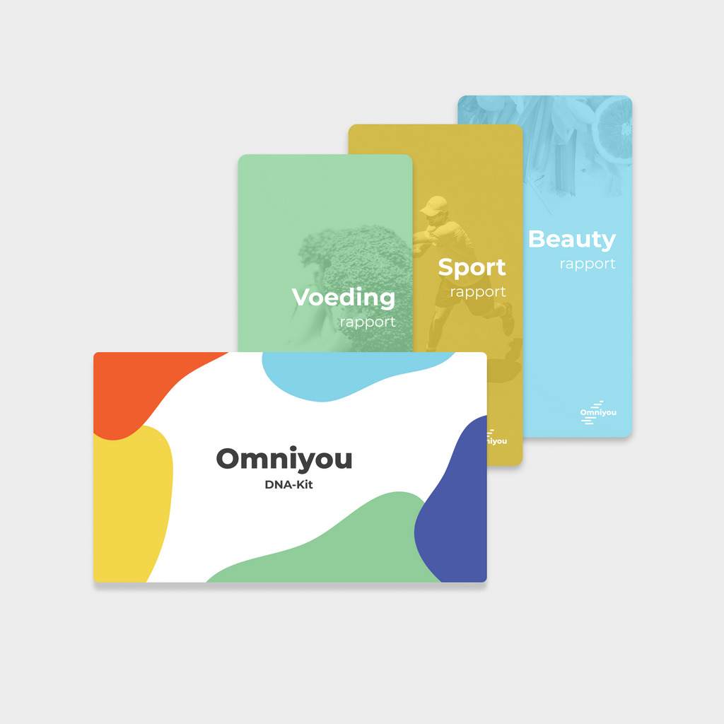 Omniyou Athleticogenomics + Nutrigenomics + Dermagenomics