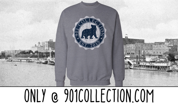 901 Collection Crest Crew Neck Sweatshirt
