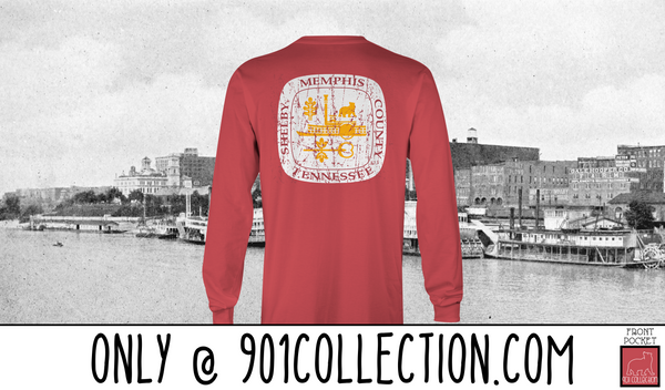 Pocketed City Seal Crimson