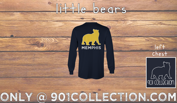 Little Bear LS Bear Navy