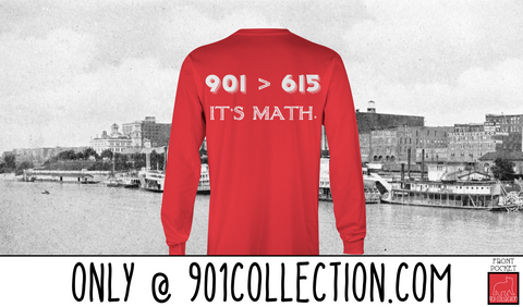 Pocketed Math Red