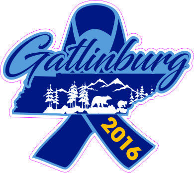 Gatlinburg Relief Decal