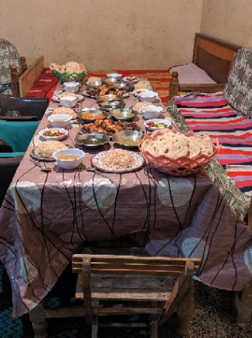 Egyptian Food in Luxor