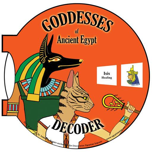 Hieroglyphic Decoder - Gods and Goddesses - 4.5