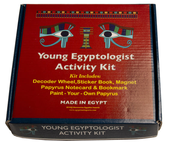 Young Egyptologist Kit - 6 x 6