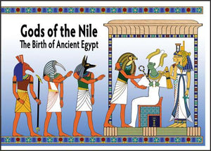 Gods of the Nile Booklet - 18 pages - 7 x 9""