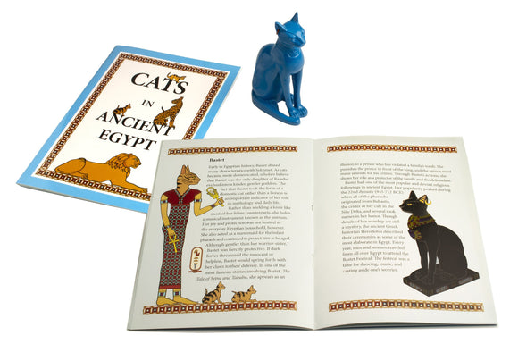 Cats in Ancient Egypt Booklet - 16 pages - 7 x 9
