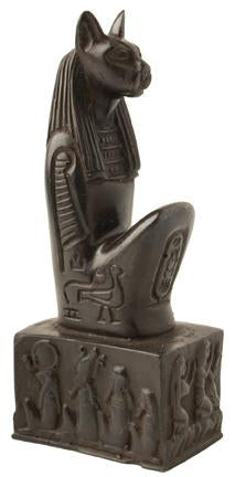 Bastet Kneeling Black - 5