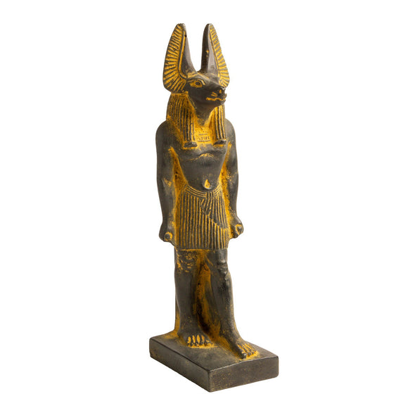 Anubis Antique Gold Lg - 7