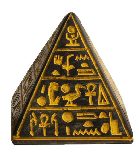Pyramid Antique Gold Med - 3
