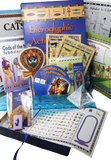 Educational Homeschool Egyptian Activity Kit - over 18 items included
