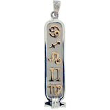 Astrological Cartouche (Gold and Silver)
