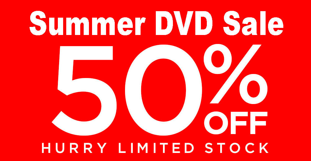 50% off ALL DVDs!