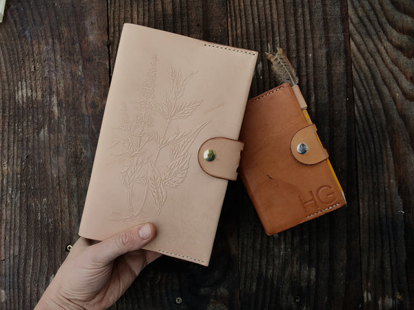 Herb Notebook Cover - Full Size