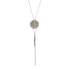 Snowflake Black Diamond Pendant - Rebel Designs - Necklace - TOPGEARNY