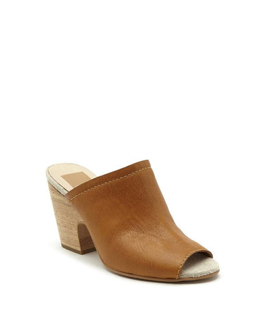 TEGAN Wood-Heeled Mule