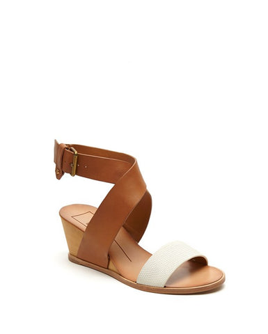 LOLA Contrast Cross Strap Wedge