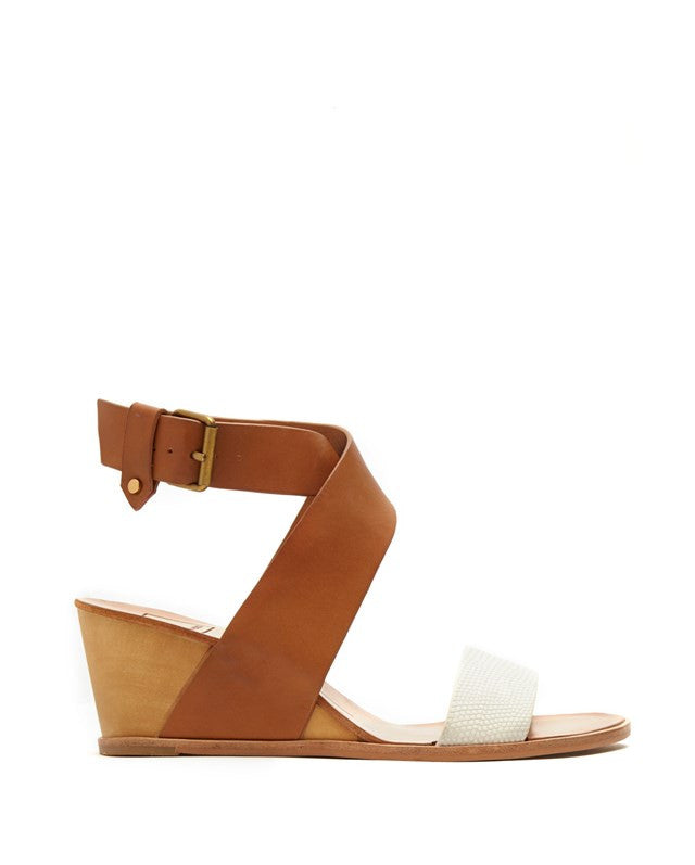 LOLA Contrast Cross Strap Wedge - Dolce Vita - Shoes - TOPGEARNY