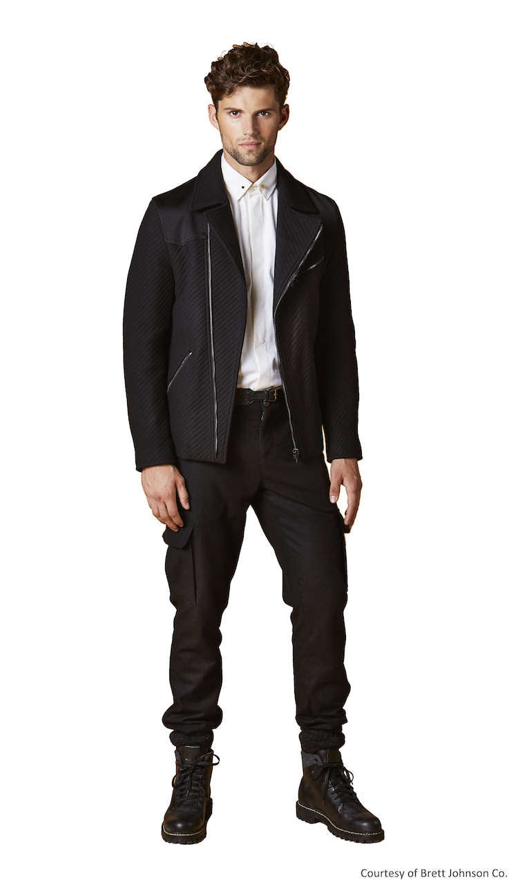 Western Biker Jacket - Brett Johnson - Jacket - TOPGEARNY