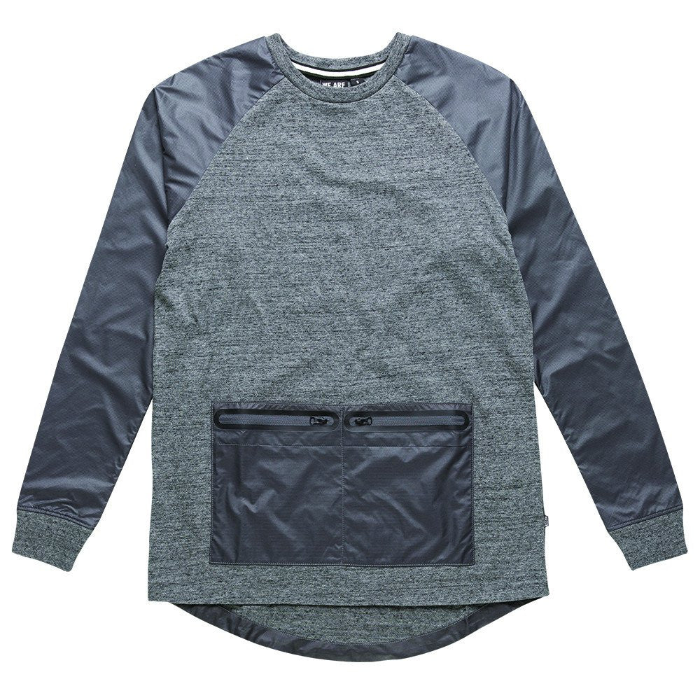 Clyde Ripstop Nylon Pocket Top - Massiv - Fleece - TOPGEARNY