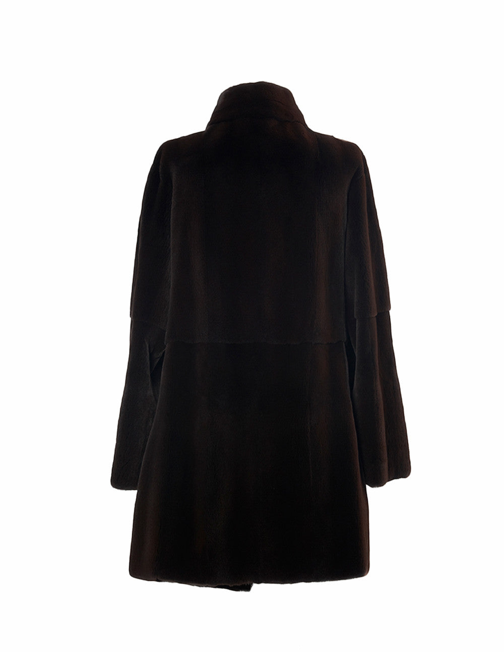 Burling Brown Mink Coat - Elena Benarroch - Fur - TOPGEARNY