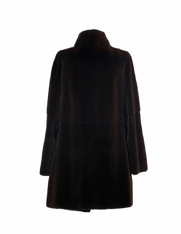 Burling Brown Mink Coat