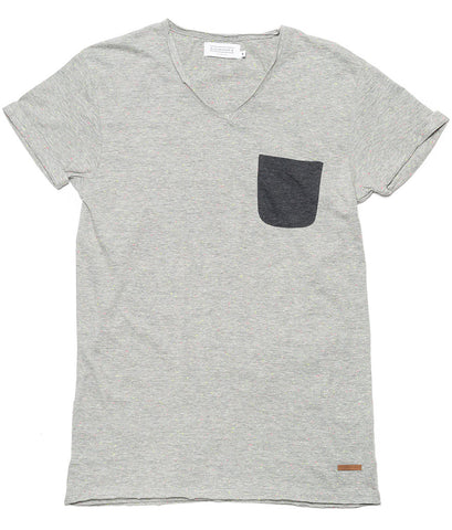 Babico Contrast Pocket M T-Shirt