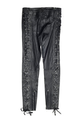 Leather Laced Running Slim Pants - Faith Connexion - Bottoms - TOPGEARNY