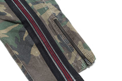 Army Khaki Camo Red - Faith Connexion - Pants - TOPGEARNY