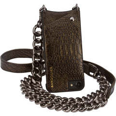 Jun Metallic Bronze  - iPhone 6 Plus / 6s Plus/ 7 Plus/ 8 Plus Case - Bandolier - Accessories - TOPGEARNY