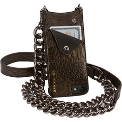 Jun Metallic Bronze  - iPhone 6 / 6S / 7 Case - Bandolier - Accessories - TOPGEARNY