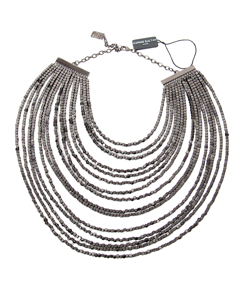 Joan Statement Necklace - Karine Sultan - Necklace - TOPGEARNY