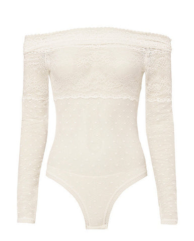 Sailor Lace Bodysuit - Faith Connexion - Bodysuit - TOPGEARNY
