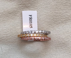 Multi-Tone Stackable Ring