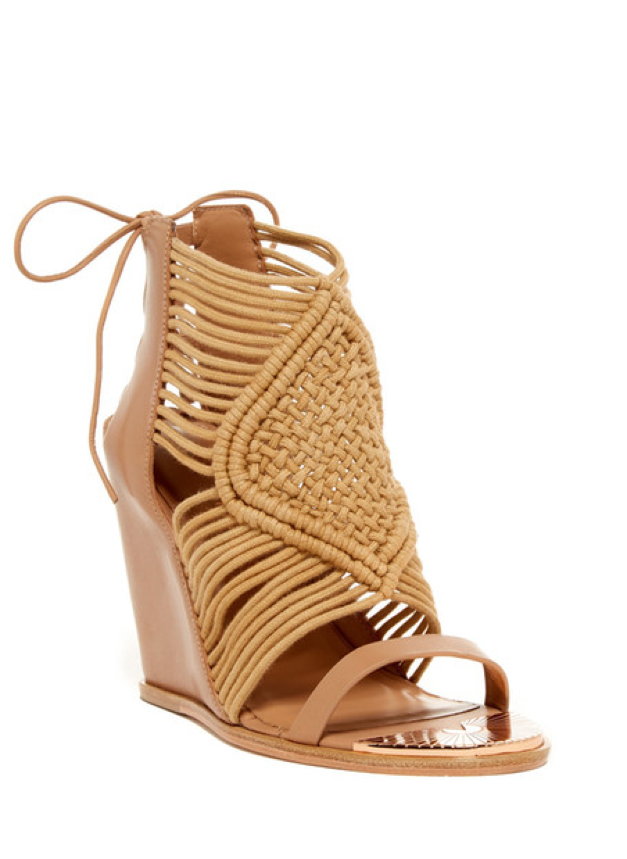 Mykonos  Macramé Wedge - Ivy Kirzhner - Shoes - TOPGEARNY