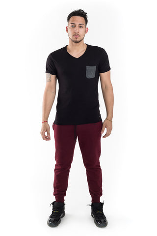 Babico Contrast Pocket T-Shirt