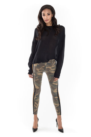 Big Camo Laminat Legging