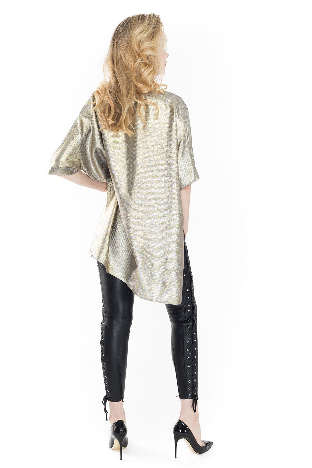 Asymmetry Lame Lurex - Faith Connexion - Top - TOPGEARNY