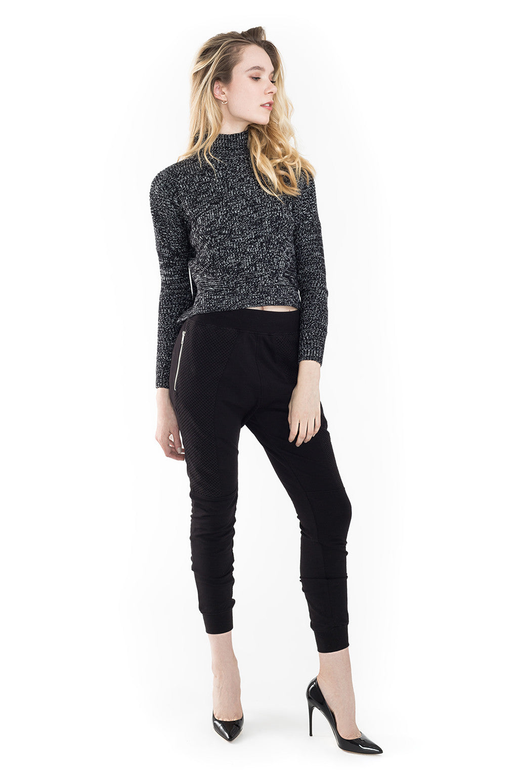 Paramore W Crop Sweater - Eleven Paris - Sweater - TOPGEARNY