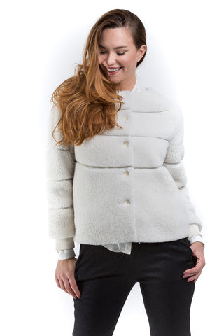 Shearling Sport Jacket