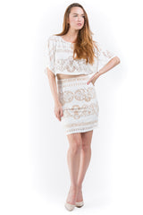 Kimono Pop-Over Dress - A.B.S. - Dress - TOPGEARNY