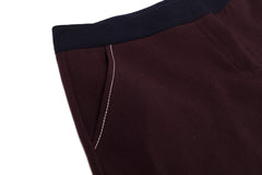 Contrasted details crop pants - Sita Murt - Bottoms - TOPGEARNY
