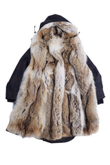 Parka with Fur Lining - Brett Johnson - Jacket - TOPGEARNY