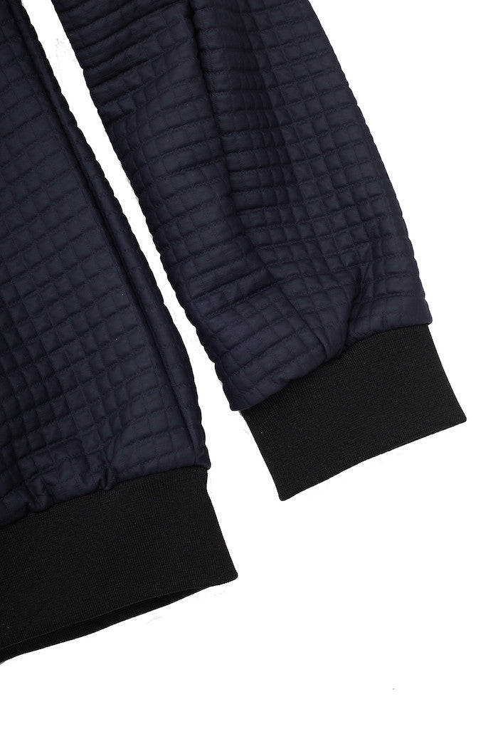 Quilted bomber with micro-square effect - Antony Morato - Jacket - TOPGEARNY