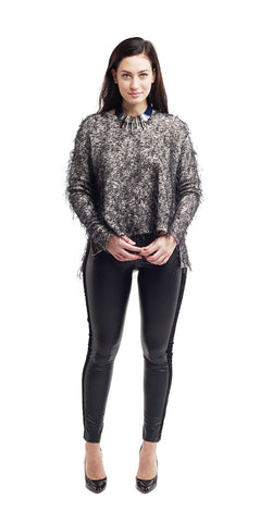 Rounded Neck Sweater